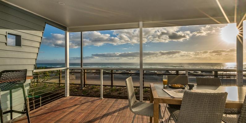 Tweed Coast Holiday Parks Kingscliff Beach Cabin Deck 002